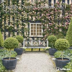 English Country Gardens 2021 – Wand-Kalender – Broschüren-Kalender – 30×30 – 30×60 geöffnet – Garten von Nichols,  Clive