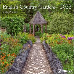 English Country Gardens 2022 – Wand-Kalender – Broschüren-Kalender – 30×30 – 30×60 geöffnet – Garten von Nichols,  Clive