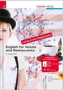 English for Hotels and Restaurants Lehrer/innen-Begleitpaket – Ausgabe für Deutschland von Lichtenwagner,  Sonja, Siegel,  Beate, Vogel,  Sibylle