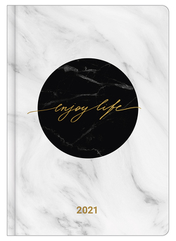 ENJOY LIFE 2021 – Buchkalender – Taschenkalender – Lifestyle – 14,8×21