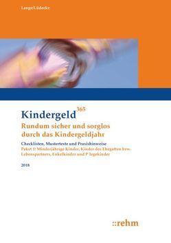 Enkelkinder, Kinder des Ehegatten bzw. Lebenspartners, Pflegekinder und minderjährige Kinder 2018 von Lange,  Klaus, Lüdecke,  Reinhard