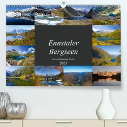 Ennstaler Bergseen in den Schladminger Tauern (Premium, hochwertiger DIN A2 Wandkalender 2021, Kunstdruck in Hochglanz) von Kramer,  Christa