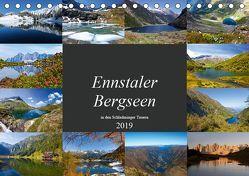 Ennstaler Bergseen in den Schladminger Tauern (Tischkalender 2019 DIN A5 quer) von Kramer,  Christa