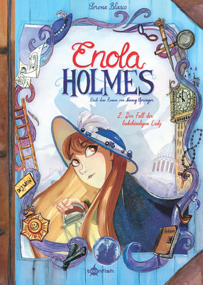 Enola Holmes (Comic). Band 2 von Blasco,  Serena, Springer,  Nancy