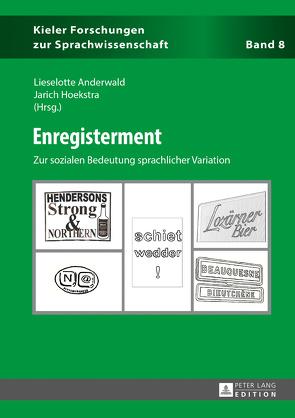 Enregisterment von Anderwald,  Lieselotte, Hoekstra,  Jarich