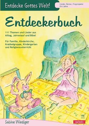 Entdeckerbuch von Wiediger,  Sabine
