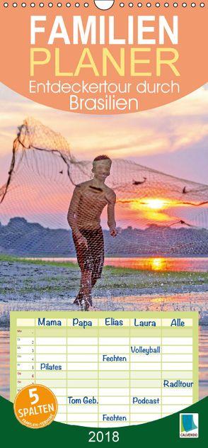 Entdeckertour durch Brasilien (Wandkalender 2018 PRO_49_format hoch) von CALVENDO,  k.A.