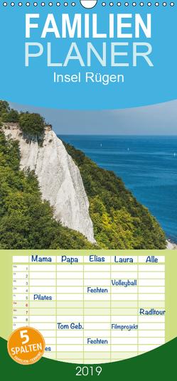 Entdeckungen auf der Insel Rügen – Familienplaner hoch (Wandkalender 2019 , 21 cm x 45 cm, hoch) von Kirsch,  Gunter