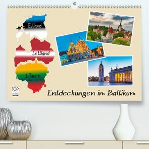 Entdeckungen im Baltikum (Premium, hochwertiger DIN A2 Wandkalender 2021, Kunstdruck in Hochglanz) von Kirsch,  Gunter