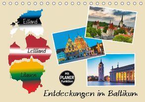 Entdeckungen im Baltikum (Tischkalender 2018 DIN A5 quer) von Kirsch,  Gunter