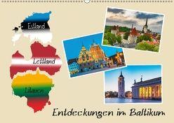 Entdeckungen im Baltikum (Wandkalender 2018 DIN A2 quer) von Kirsch,  Gunter