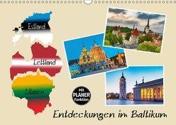 Entdeckungen im Baltikum (Wandkalender 2018 DIN A3 quer) von Kirsch,  Gunter