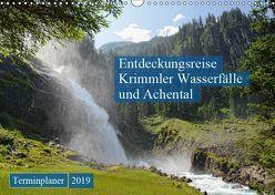Entdeckungsreise Krimmler Wasserfälle und Achental (Wandkalender 2019 DIN A3 quer) von Frost,  Anja