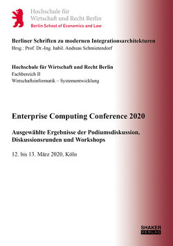 Enterprise Computing Conference 2020 von Greis,  Wolfgang, Schmietendorf,  Andreas