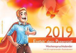 entfalt®-Kalender 2019: Entfalt' dein Potenzial! von Pilsl,  Franziska Vinzis