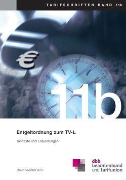 Entgeltordnung zum TV-L von dbb beamtenbund und tarifunion