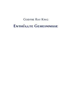 Enthüllte Geheimnisse von Ray King,  Godfre
