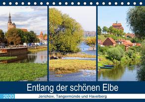 Entlang der schönen Elbe – Jerichow, Tangermünde und Havelberg (Tischkalender 2020 DIN A5 quer) von Frost,  Anja