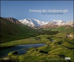 Entlang der Seidenstraße 2021 – Reise-Fotografie von Priska Seisenbacher – Wandkalender 58,4 x 48,5 cm – Spiralbindung von Seisenbacher,  Priska