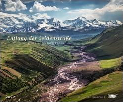 Entlang der Seidenstraße 2022 – Reise-Fotografie von Priska Seisenbacher – Wandkalender 58,4 x 48,5 cm – Spiralbindung von Seisenbacher,  Priska