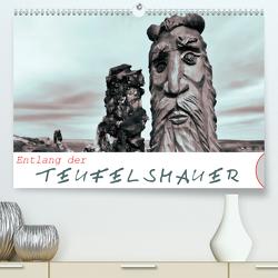 Entlang der Teufelsmauer (Premium, hochwertiger DIN A2 Wandkalender 2020, Kunstdruck in Hochglanz) von M. Laube,  Lucy