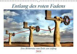 Entlang des roten Fadens (Wandkalender 2019 DIN A3 quer) von glandarius,  Garrulus