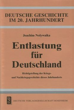 Entlastung für Deutschland von Nolywaika,  Joachim