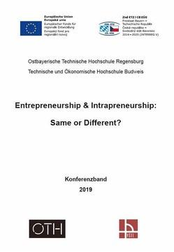 Entrepreneurship & Intrapreneurship: Same or Different? von Faltermeier,  Johann Fabian, Justus,  Xenia