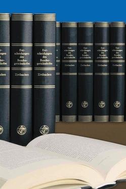 Entscheidungen des Bundesgerichtshofes in Zivilsachen BGHZ