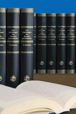 Entscheidungen des Bundesgerichtshofes in Zivilsachen BGHZ von Mitglieder des Bundesgerichtshofes und der Bundesanwaltschaft