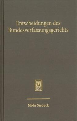 Entscheidungen des Bundesverfassungsgerichts (BVerfGE) von Bundesverfassungsgerichts,  Mitglieder des