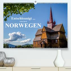 Entschleunigt … reisen durch Norwegen (Premium, hochwertiger DIN A2 Wandkalender 2021, Kunstdruck in Hochglanz) von Sulima,  Dirk