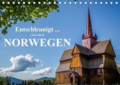 Entschleunigt … reisen durch Norwegen (Tischkalender 2020 DIN A5 quer) von Sulima,  Dirk