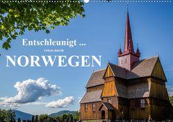Entschleunigt … reisen durch Norwegen (Wandkalender 2020 DIN A2 quer) von Sulima,  Dirk