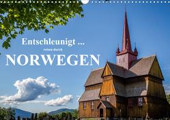 Entschleunigt … reisen durch Norwegen (Wandkalender 2021 DIN A3 quer) von Sulima,  Dirk