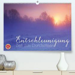 Entschleunigung – Zeit zum Durchatmen (Premium, hochwertiger DIN A2 Wandkalender 2020, Kunstdruck in Hochglanz) von Cross,  Martina