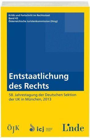 Entstaatlichung des Rechts von Juristenkommission,  Österreichische