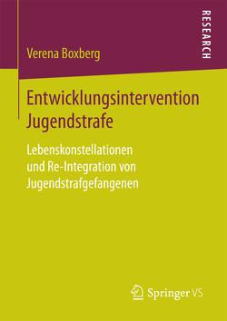 Entwicklungsintervention Jugendstrafe von Boxberg,  Verena