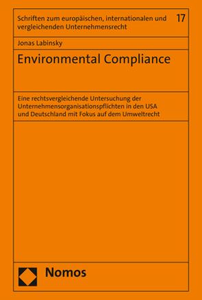 Environmental Compliance von Labinsky,  Jonas