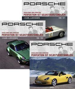 Enzyklopädie Porsche – Band 1-3 von Ludvigsen,  Karl