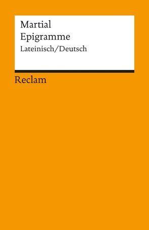 Epigramme von Holzberg,  Niklas, Martial