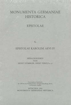 Epistolae (in Quart) / Epistolae Karolini aevi (IV) von Dümmler,  Ernst, Perels,  Ernst
