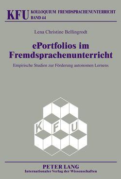 ePortfolios im Fremdsprachenunterricht von Bellingrodt,  Lena