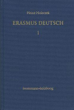 Erasmus deutsch von Holeczek,  Heinz