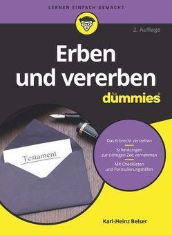 Erben und vererben für Dummies von Belser,  Karl-Heinz