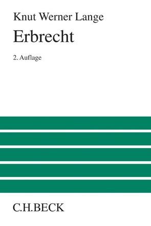Erbrecht von Lange,  Knut Werner