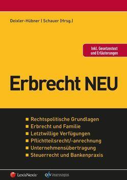 Erbrecht NEU von Deixler-Hübner,  Astrid, Schauer,  Martin