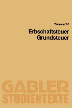 Erbschaftsteuer, Grundsteuer von Teß,  Wolfgang