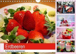 Erdbeeren 2019. Kulinarische Impressionen (Wandkalender 2019 DIN A4 quer) von Lehmann (Hrsg.),  Steffani