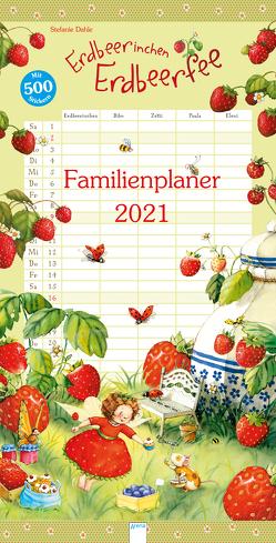 Erdbeerinchen Erdbeerfee. Familienplaner 2021 von Dahle,  Stefanie